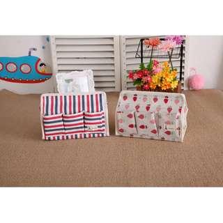 Kotak tempat box tisu 6 sekat