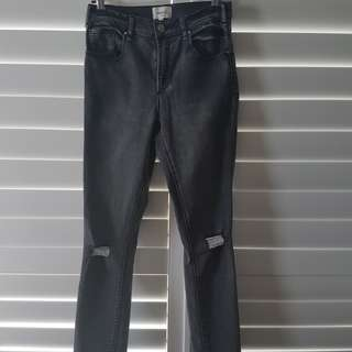 Seed ripped denim jeans- size 8/10