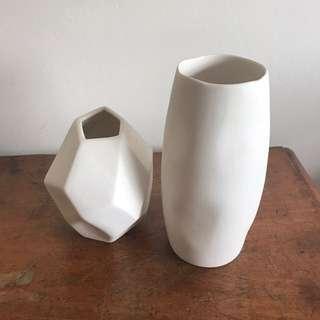 Milly + Eugene vases