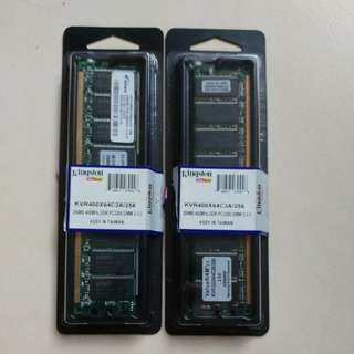 Kingston ram 2 pcs