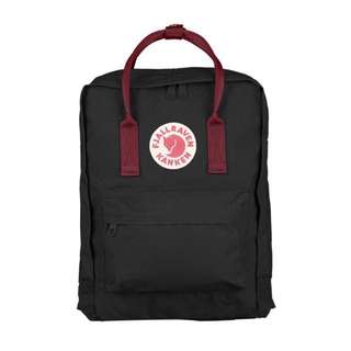 [INSTOCK] FJALLRAVEN KANKEN CLASSIC BACKPACK (BLACK/RED)