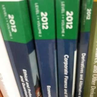 CFA set 2012