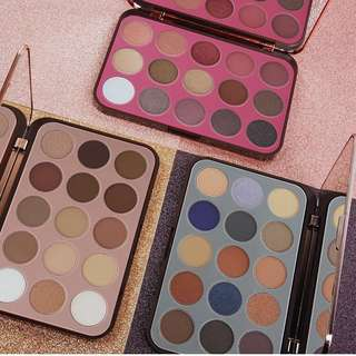 BH cosmetics Glam Reflection eyeshadow palettes - Smoke, Rose, L'amour