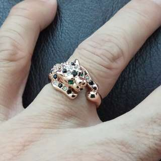 Leopard Fashion Ring