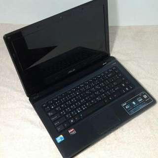 asus gaming laptop A42J 4GB