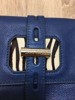 割二折Authentic Jimmy Choo Clutch 送自配錬