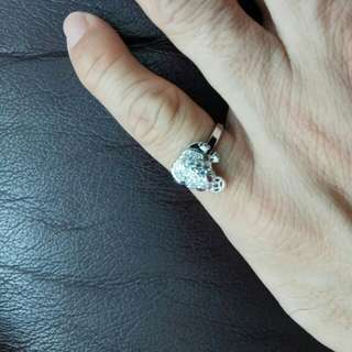 Money Small Toad Fashion Ring