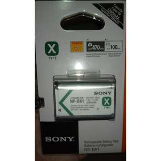 Sony BX-1 | BX1 | Sony RX Battery | Sony Camera | Sony Battery | Sony Action Cam Batt | Rx100 series