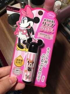 New minnie disney pink gloss lip balm / pelembab bibir disney ori jepang