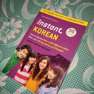 Korean Language Phrase Book