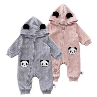 Panda Baby Romper, Panda Baby Clothing