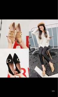 [P.O] Ladies Pointed Shoes