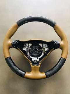 Porsche 3 Spoke Steering Wheel