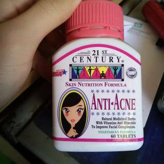 [21st Century] Anti-Acne (60s) Herbs plus Vitamins to stop acne and pimples