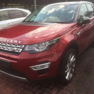 UNREGISTERED IMPORT CBU 2016 LAND ROVER RANGE ROVER DISCOVERY 2.0 SI4 HSE LUXURY