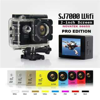 Original SJ7000 PRO Action Camera Wifi Sport Cam SJ4000 Upgraded