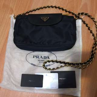 Prada cross body bag 袋 連塵袋及咭全套齊