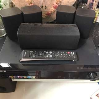 Samsung DVD PLAYER WITH 5.1 speaker