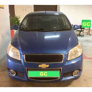 Chevrolet Aveo Manual RENTAL CHEAPEST RENT AVAILABLE FOR Grab/Uber USE