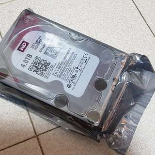 """WTS WD RED 4TB 3.5"""" (Sealed Refurbished)"""