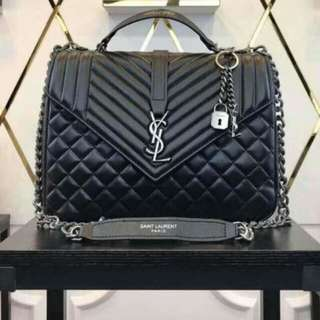 Yves Saint Laurent Monogram Black