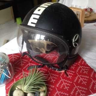 Very used but Genuine Momo Design Fighter Helmet *Price Drop