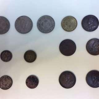 香港歷史錢幣