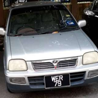 KANCIL NICE PLATE NUMBER CASH