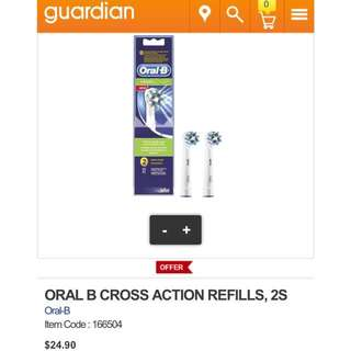 Oral B Power Cross & Floss Action Refill