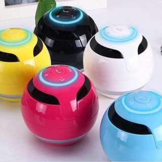 Colourful Bluetooth sound box