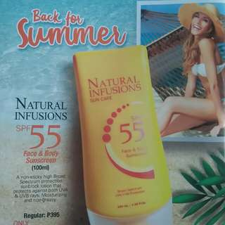 NATURAL INFUSIONS SUN CARE