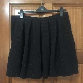 Embossed print skirt (UK 16)