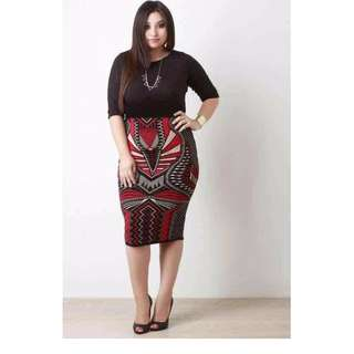 PLUS SIZE BODYCON - FIT UP TO XL