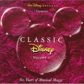 💯 Classic Disney, Vol. 1: 60 Years of Musical Magic Music CD
