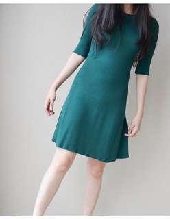 All match green Dress Brand new