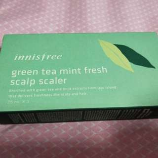 Innisfree green tea scalp care