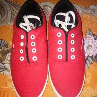 vans merah
