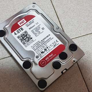 "WTS: WD RED 4TB 3.5"" HDD"