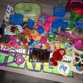 Assorted toy set