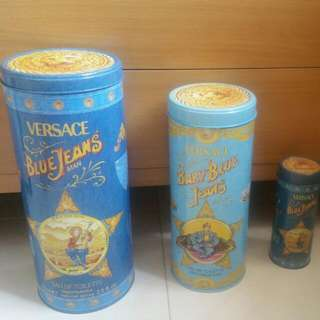 PRE-LOVE VERSACE COLLECTION S, M, L METAL TIN FOR SALES