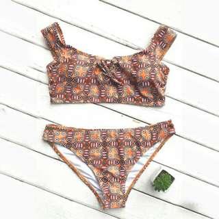 Myca Symetric Print Swimwear