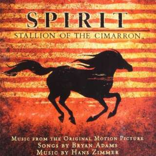 💯 Spirit: Stallion of the Cimarron Motion Picture Music CD Soundtrack