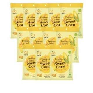 Wel-B Freeze Dried Sweet Corn Snacks