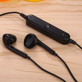 Sale! Universal Wireless Bluetooth Sports Stereo Earphone Headset Black (Out of Stock)