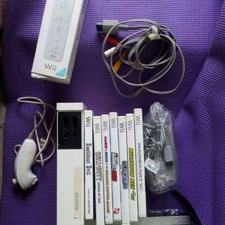 Modded Wii US complete with cds