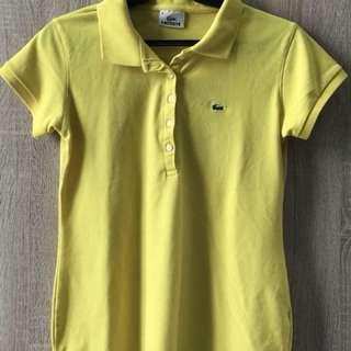 Yellow sports shirt