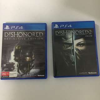 Dishonored / Dishonored 2 PS4