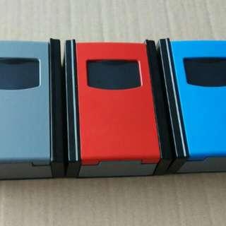 Mini Portable personalized key lock storage box durable metal lock bags Fight Password key box