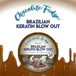 Chocolate Fudge Brazilian blowout treatment 100g