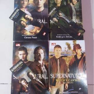 Supernatural Books Buku Novel